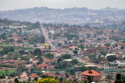City of Kampala (file photo).