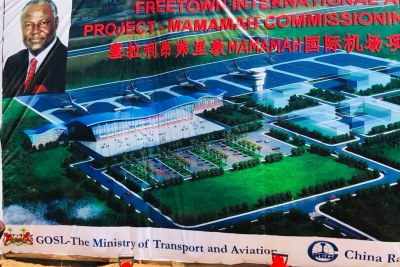 President Ernest Bai Koroma has commissioned the construction of the Mamamah International Airport at Mamboima off Songo Village, Koya Chiefdom in Port Loko district.