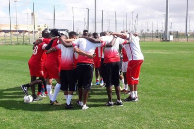 Harambee Stars players (file photo).