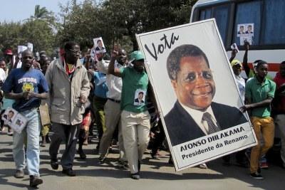 Afonso Dhlakama supporters (file photo).