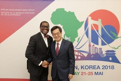 Assemblées annuelles 2018 de la BAD à Busan en Corée du Sud, du 21 au 25 mai.