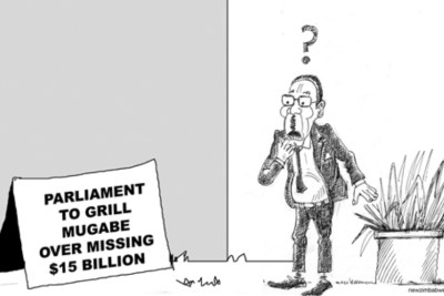 Former president Robert Mugabe.
