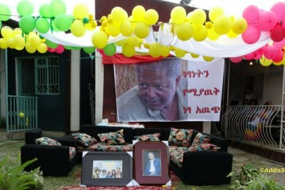Family and supporters of Andargachew Tsige await his return.