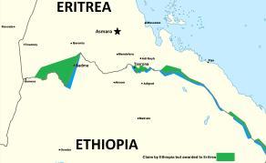 Fin du différend frontalier entre l'Ethiopie et l'Erythrée