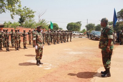 Troops stationed in the municipalities border regions of the northern Zaire province (Angola) with the Democratic Republic of Congo (DRC).