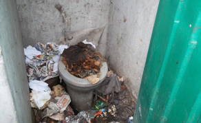 Toilets in Cape Town Settlement Blocked For Nearly A Year