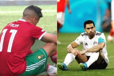 Le Maroc et l'Égypte éliminés du Mondiale 2018