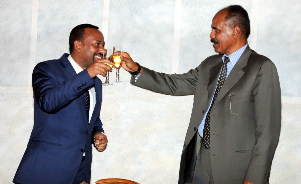 Africans Hail New Era for Ethiopia And Eritrea