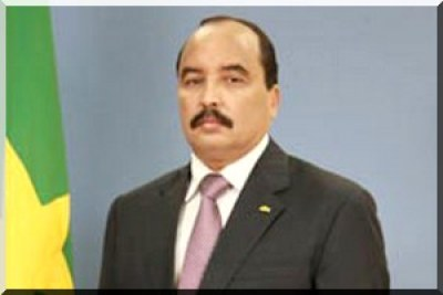 Le président Mohamed Ould Abdel Aziz