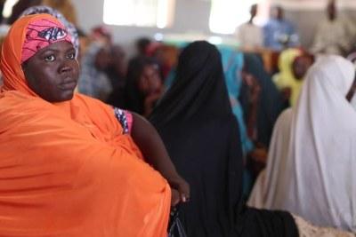 The wives of slain Boko Haram militants.