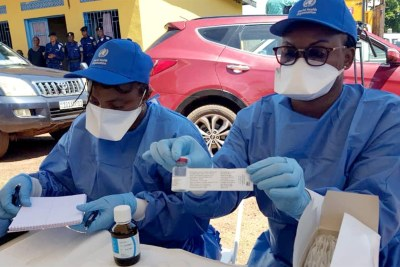 The Government of Democratic Republic of the Congo, with the support of WHO and partners, carried out a vaccination campaign in high-risk populations against Ebola virus disease in affected health zones.