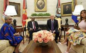 Trump Calls For Deep Cuts in Aid to Kenya