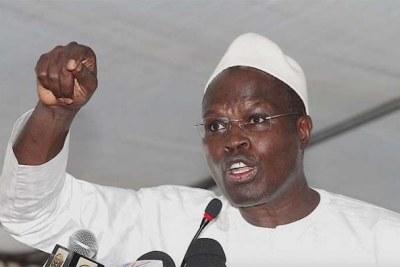 Khalifa Sall député maire de Dakar