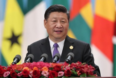 President Xi Jinping delivers a keynote speech titled