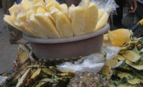 Pineapple Peels Become Hot Property in Nairobi Overnight