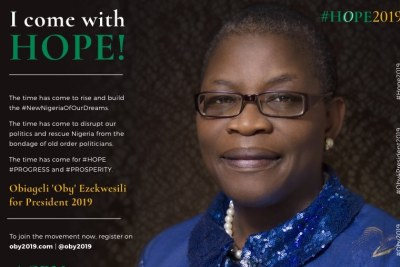 Oby Ezekwesili is Running for President in 2019