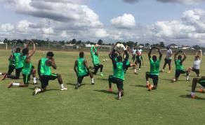 Nigeria's Super Eagles Begin Training Ahead of Libya Clash
