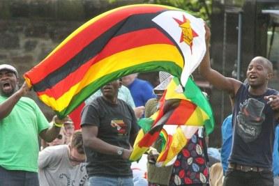 Zimbabwe Sevens fans.