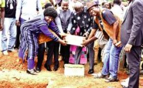 Lancement des travaux d'une stèle en hommage à Thomas Sankara