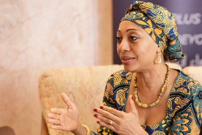 Samia Yabah Nkrumah is on a mission to promote African unity to achieve effective democracies and economic growth that benefits all. .