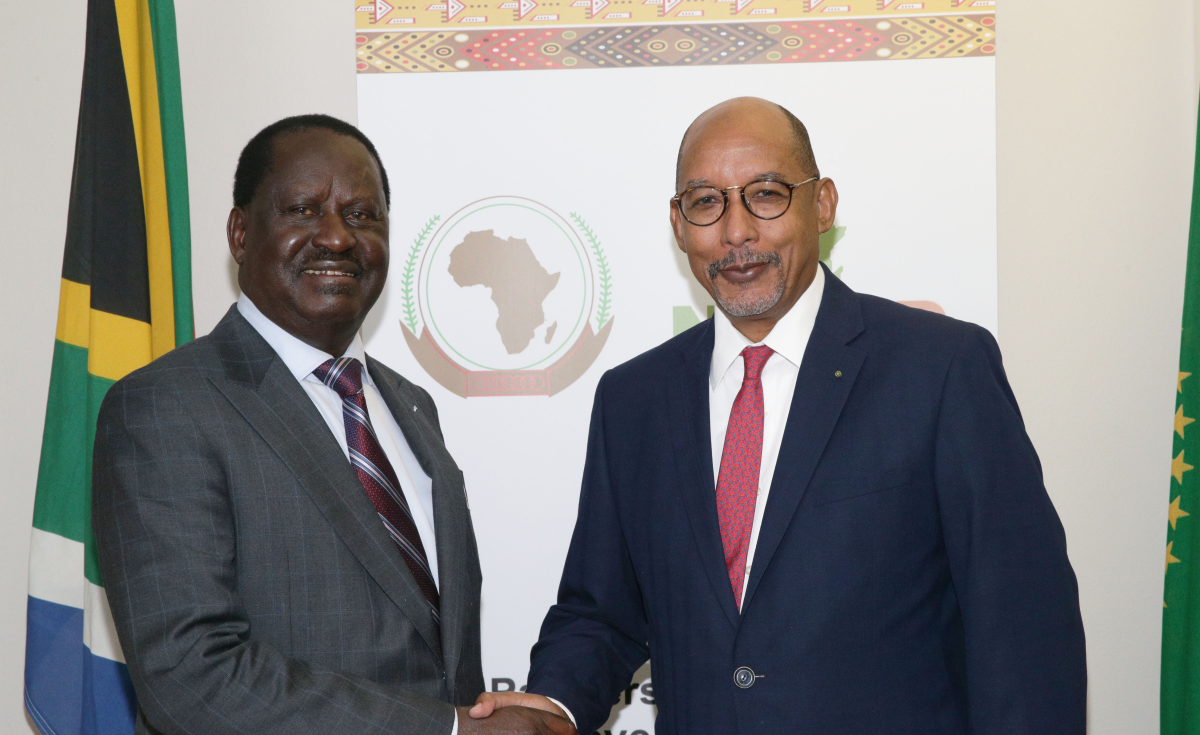 Africa:Hon. Raila Odinga's optimism for Africa's infrastructure