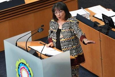 Former Cape Town mayor Patricia de Lille (file photo).
