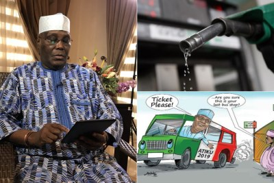 Atiku has plans to crash fuel price, says PDP.
