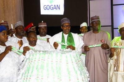 President Muhammadu Buhari launches Buhari Unity Band.