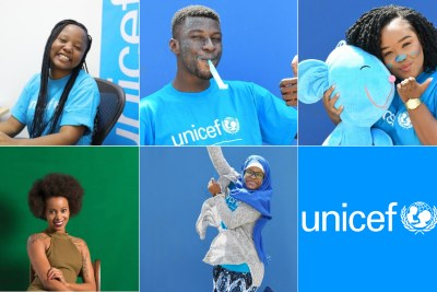 The new UNICEF Youth Advocates from the African continent.