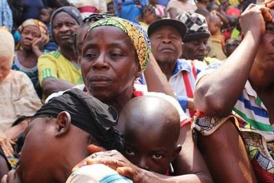 Des familles camerounaises ont trouvé refuge à Utanga, Obanliku, au Nigéria, après avoir fui l'insécurité dans les régions anglophones du Cameroun.