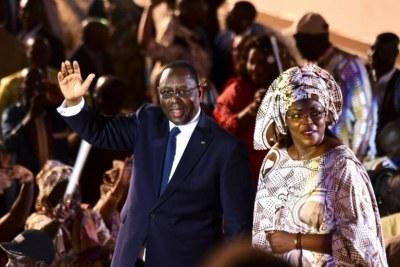 Couple présidentiel sénégalais