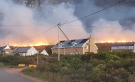 Man Appears in Court After Blaze Devastates South African Towns