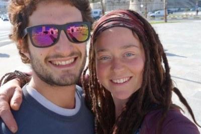 Deux expatriés, Édith Blais, 34 ans, et son copain, Luca Tacchetto, un Italien de 30 ans
