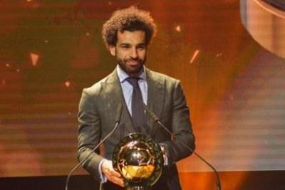 Mohamed Salah est devenu le joueur africain de l'année 2018.