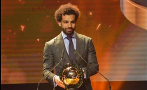 Mohamed Salah encore élu Joueur africain de l'année 2018