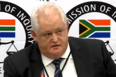 Former Bosasa Chief Operating Officer Angelo Agrizzi
