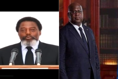 Joseph Kabila addresses the nation on Wednesday, January 23, the day before Felix Tshisekedi will reportedly be inaugurated as president.