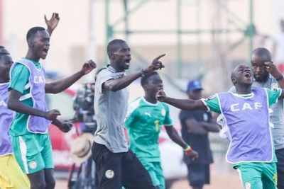 Les Lionceaux du Sénégal lors de la CAN U20 Niger 2019
