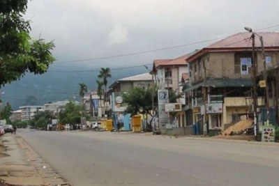 Deserted English speaking town of Buea, Feb. 6, 2019.