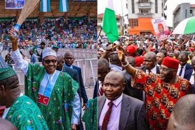 Le Président Muhammadu Buhari