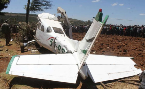 Five Killed as Aircraft Crashes in Kenya's Kericho County