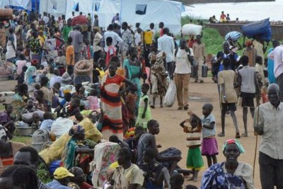 South Sudanese refugees in Ethiopia (file photo).