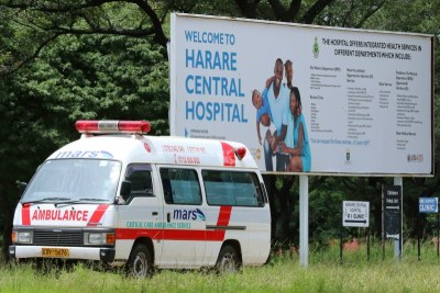 Harare Central Hospital (file photo).