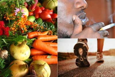 Ways to avoid noncommunicable diseases.