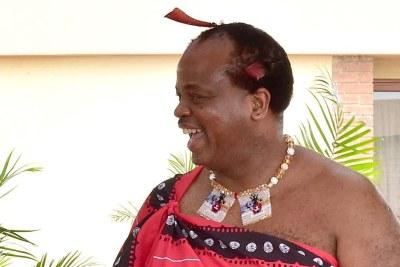 King Mswati III (file photo).