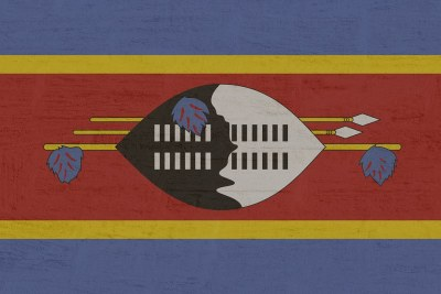 Eswatini (formerly Swaziland) flag