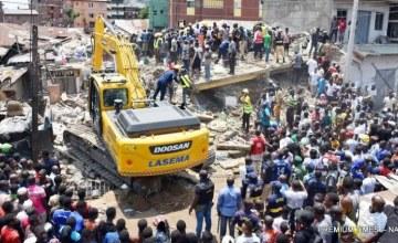 Au moins huit morts après l'effondrement d'un immeuble à Lagos