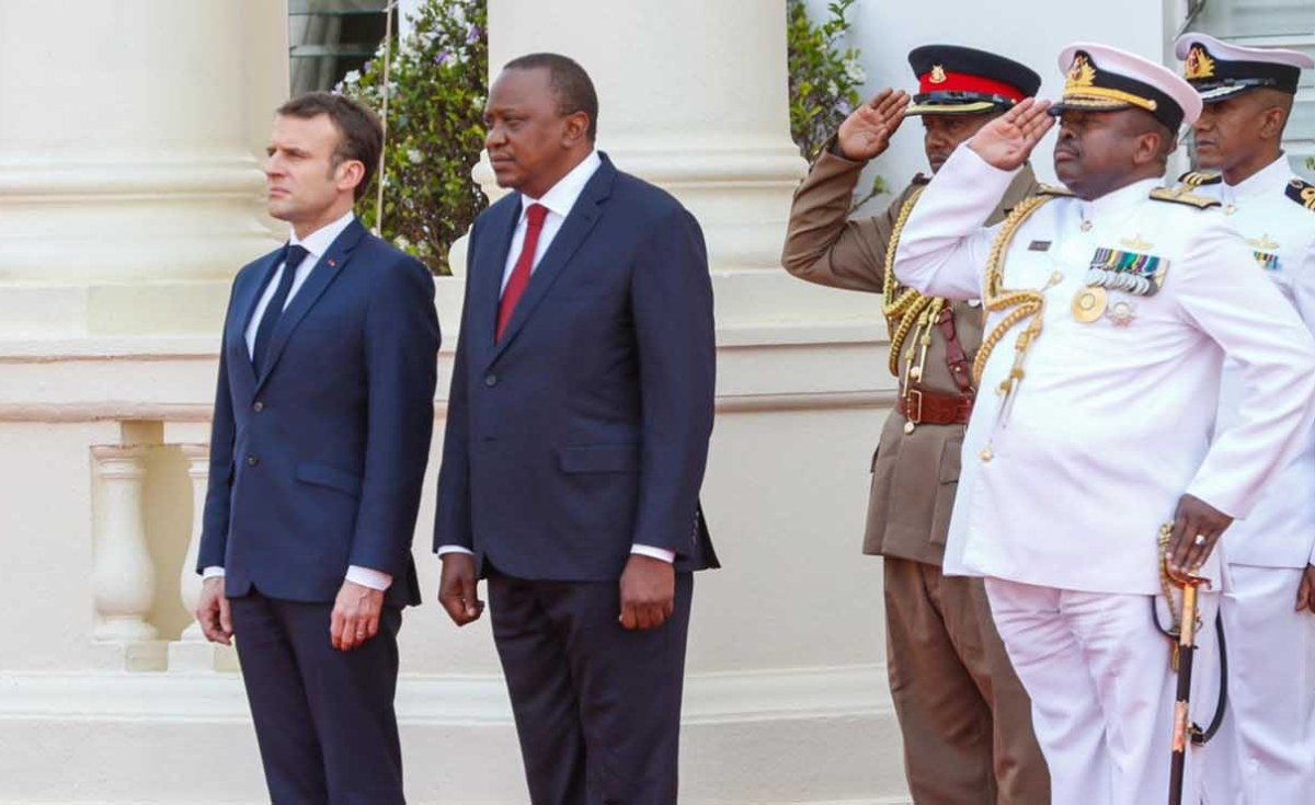 Kenya, France Working to Forge Closer Ties
