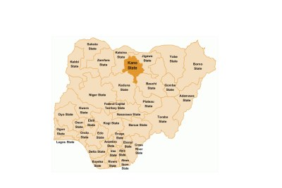 Map of Kano.
