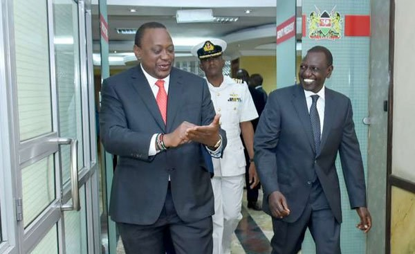 Kenyatta, Ruto Meeting Calms Tensions Among Their Supporters